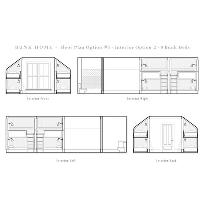Bunk house floor plans find house plans Bunkhouse floor plans
